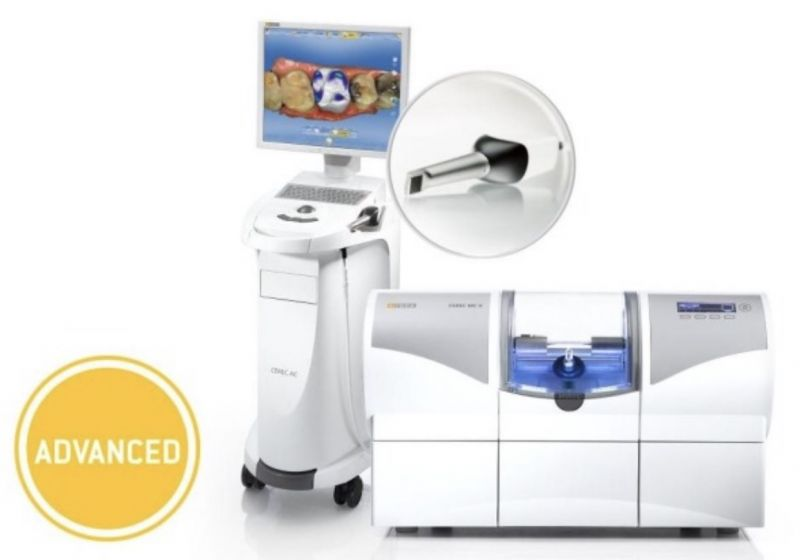 Cerec advanced сканер и фрезер стоматология