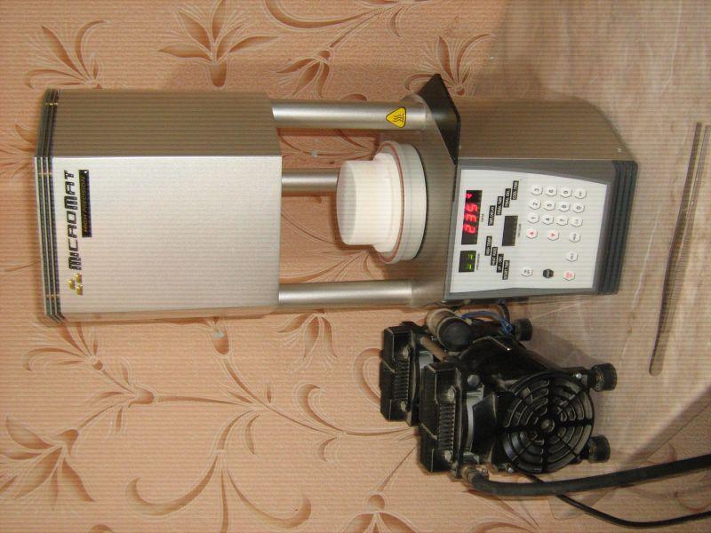 Продам печь для металлокерамики Микромат с вакуумным насосом Израиль новая