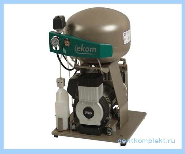 EKOM DK50 PLUS  - безмасляный компрессор для одной стоматологической установки , с ресивером 25 л (70 л/мин) | EKOM (Словакия)