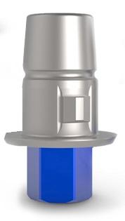 CAD/CAM титановая основа HEX 0 градусов Значение по вертикали: 5.0 Значение по горизонтали: