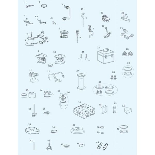 Ящик для транспортировки / ванночки для работы LOGIcase (10 шт.) для всех артикуляторов PROTAR® evo