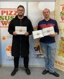 Летний марафон PizzaSushiWok дал возможность одному из участников выиграть 2 айпада