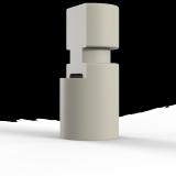 Колпачок для сканирования для CAD/CAM Значение по вертикали: 5.0 Значение по горизонтали: